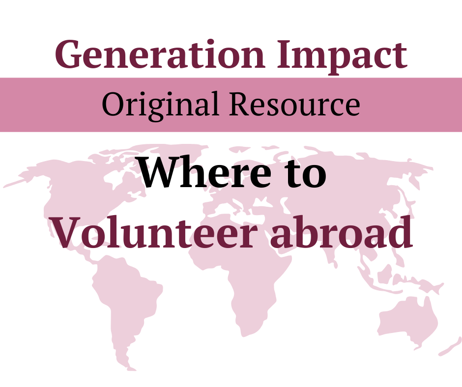 Ethical volunteer abroad opportunities