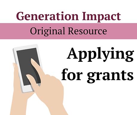 Writing grant-applications