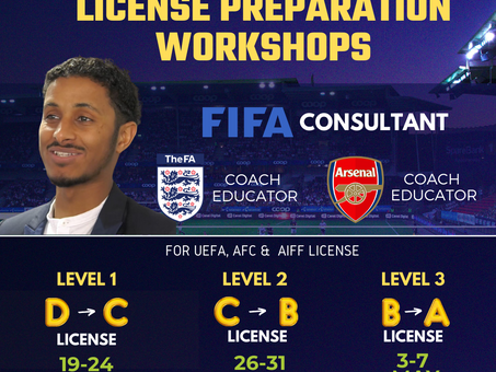 HOW TO PREPARE FOR COACHING LICENSE ?