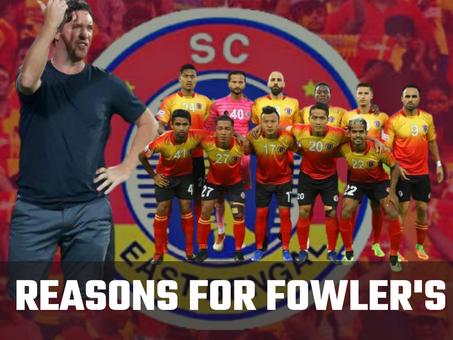 SC East Bengal Analysis: Fowler's shaky start in India