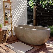 Avalon-72in-Concrete-Bathtub-Ash-NST7236