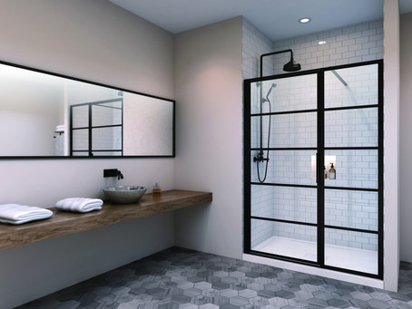 A Hot Trend in Bathroom Design: Industrial Chic