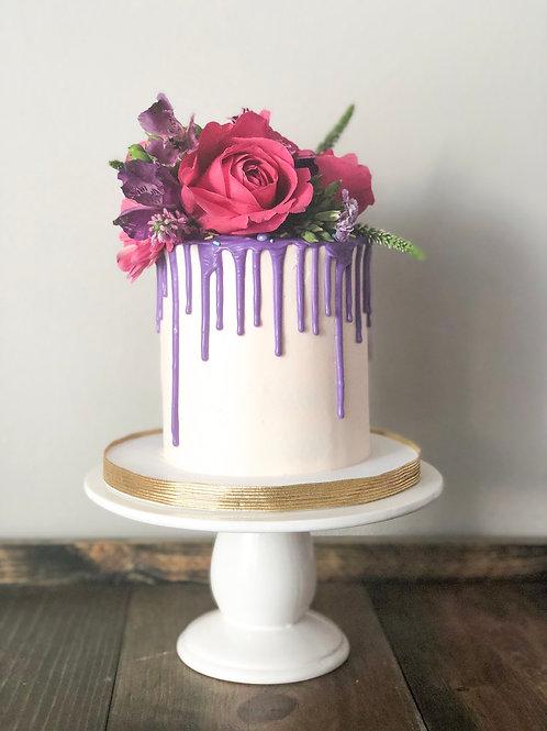 Spring floral mini cake