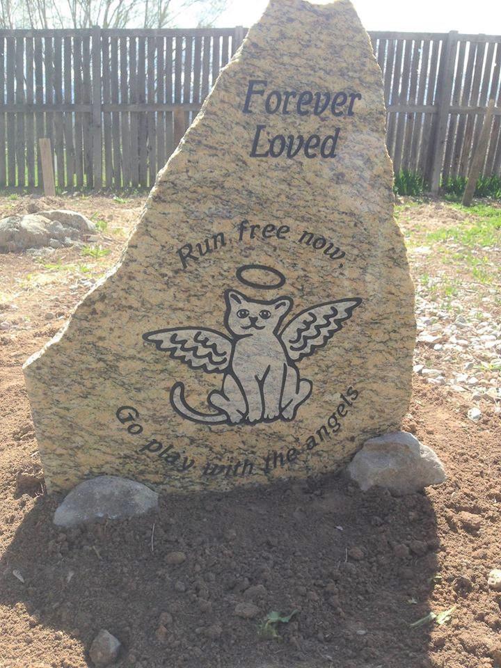 HSNU Kitty Memorial Stone