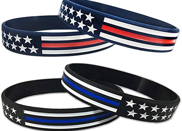 1pc United State American USA America Flag Red Blue White Thin Line