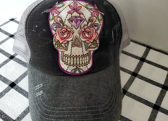 Kustom hat with embroidered patch