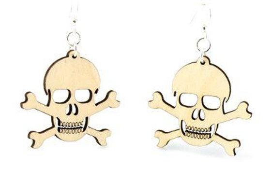 Skull and Crossbone Earrings # 1209
