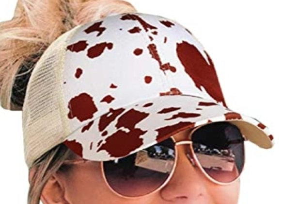Kustomizable Cow Print Hat