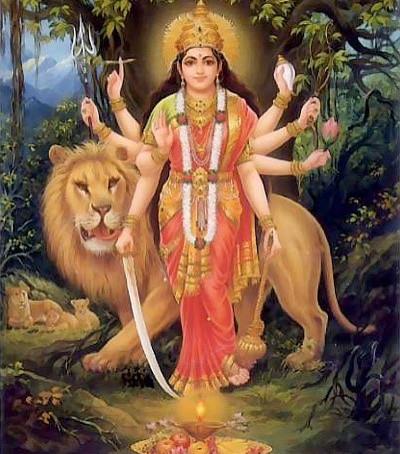 Navarātri - As nove noites da Deusa