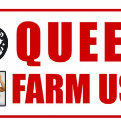 Queer Farm Use plate collab with @queers