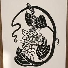 Kudzu Lifecycle Print