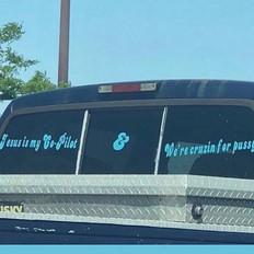 Jesus is my Co-Pilot Sticker 4in