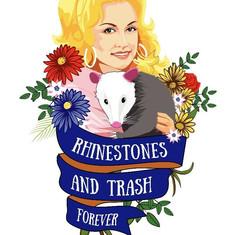 Rhinestones & Trash Forever Shirt