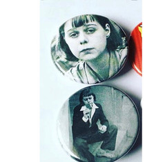 Carson McCullers Pin Set