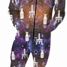 Galactic Harm Reduction Onesie