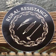 Rural Resistance Sticker