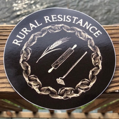 Rural Resistance Sticker