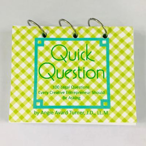Quick Question--The Book