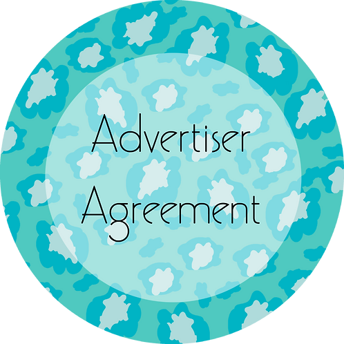 Fashion---Advertiser's Agreement