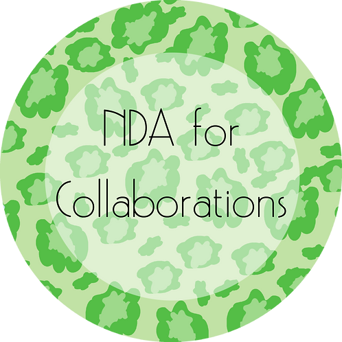 Fashion---NDA for Collaborations