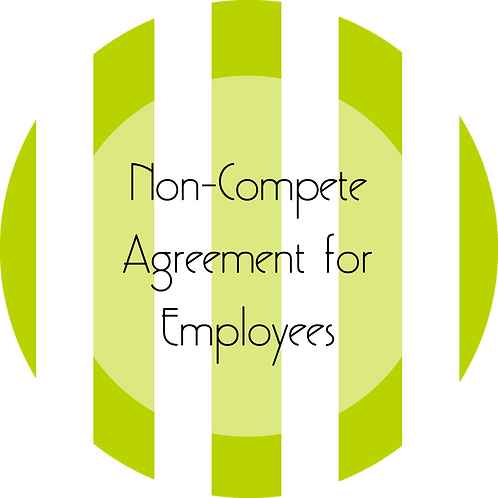 Music--- Non-Compete Agreement for Employees