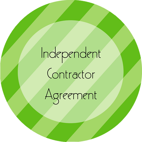 Coaching--- Independent Contractor Agreement