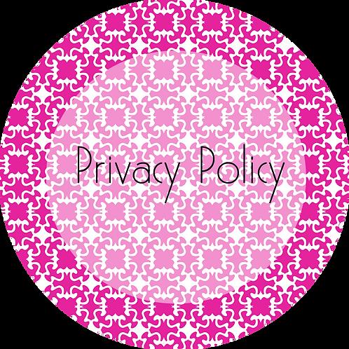 Wedding Cake Design---Privacy Policy
