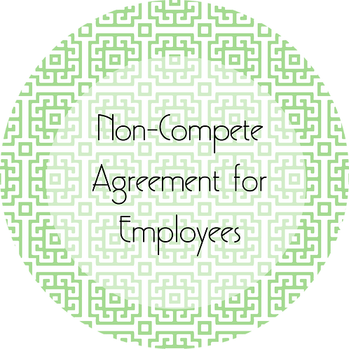Visual Arts--- Non-Compete Agreement for Employees