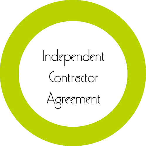 Upholstery Business--- Independent Contractor Agreement