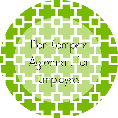 Graphic and Web Design--- Non-Compete Agreement for Employees