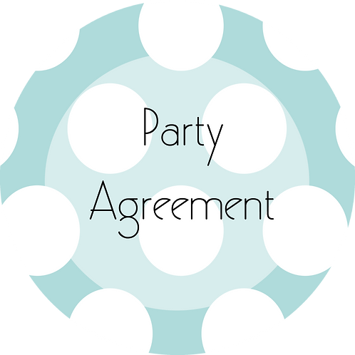 Kids Businesses---Party Agreement