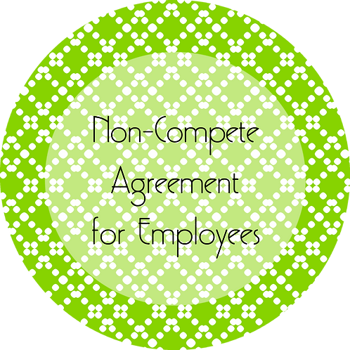 Blogs--- Non-Compete Agreement for Employees