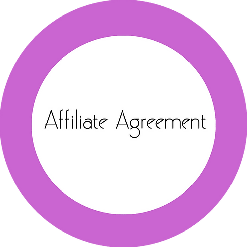 Upholstery Business---Affiliate Agreement