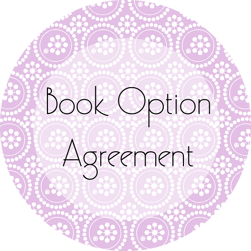 Writers and Authors---Book Option Agreement
