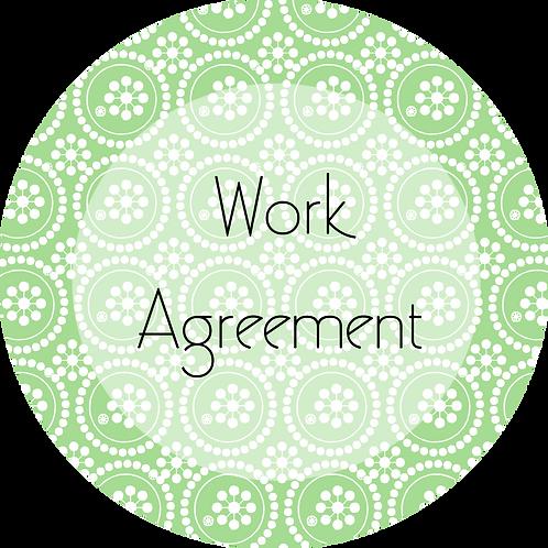 Writer & Authors--- Work Agreement