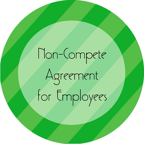 Coaching--- Non-Compete Agreement for Employees