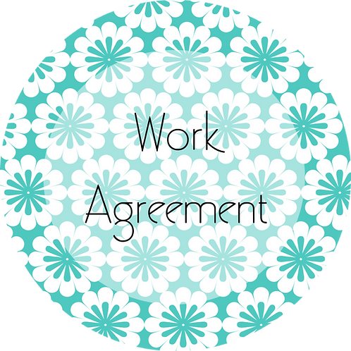 Floral Design--- Work Agreement