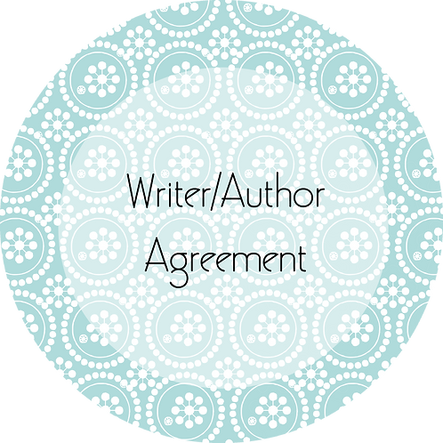 Writer & Authors---Contributing Writer Agreement