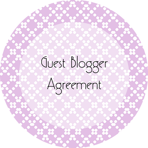 Blogs---Guest Blogger Agreement