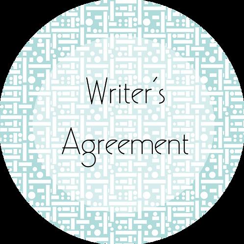 Filmmaker---Script Writer's Agreement