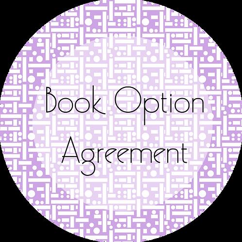 Filmmaker---Book Option Agreement