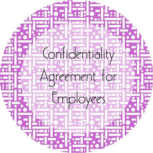 Filmmaker--- Confidentiality Agreement for Employees