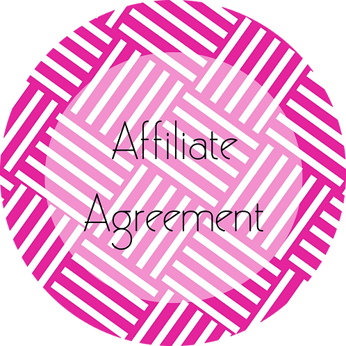 Event Planner---Affiliate Agreement