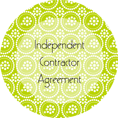 Writers & Authors--- Independent Contractor Agreement