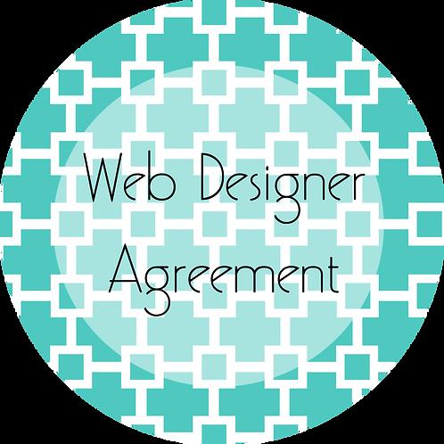 Graphic and Web Design--- Web Designer Agreement