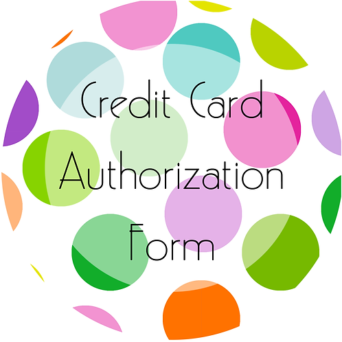 Add-Ons---Credit Card Authorization Form