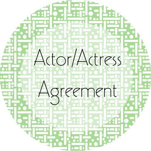 Filmmaker---Actor/Actress Agreement