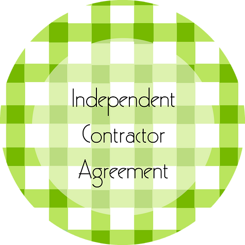 Calligraphy & Paper Goods--- Independent Contractor Agreement