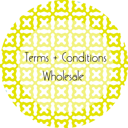 Spa Businesses--- Terms & Conditions Wholesale