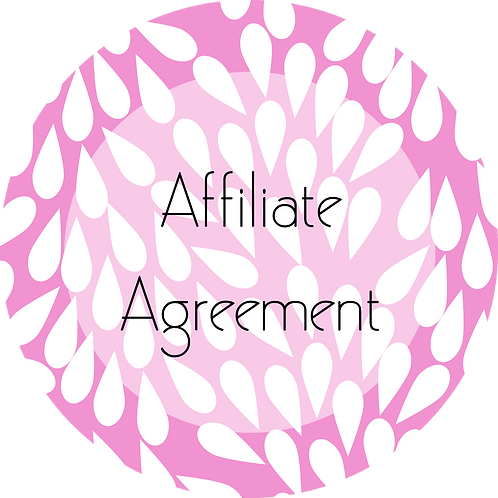 Cakes and Desserts Business---Affiliate Agreement